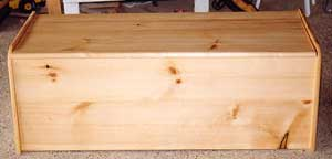 bench seat storage box plans