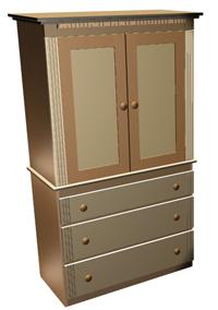 Bedroom Door Chest - Woodworking Plans