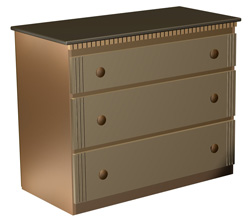 Three Drawer Storage Dresser Plans Woodworking