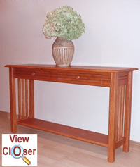 Mission Style Sofa Table Plans Free