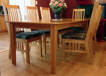 Dining Room Harvest Table And Captain Chair Plans